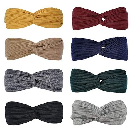 Huachi knotted stretch turbans | 40plusstyle.com