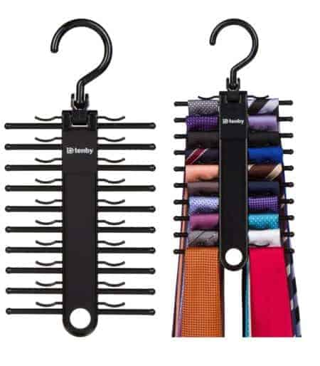 Hanging tie organizers. Great storage and organizing products for your home