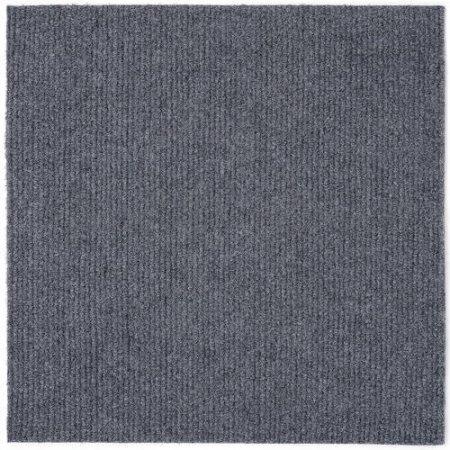 smoke color carpet tile-gray