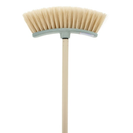 Plastic Broom, with Soft Bristles