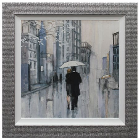 Strolling through New York II framed print from Complete Colour