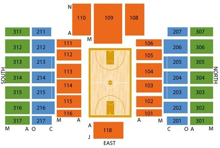 Rutgers Scarlot Knights Basketball Seating Chart