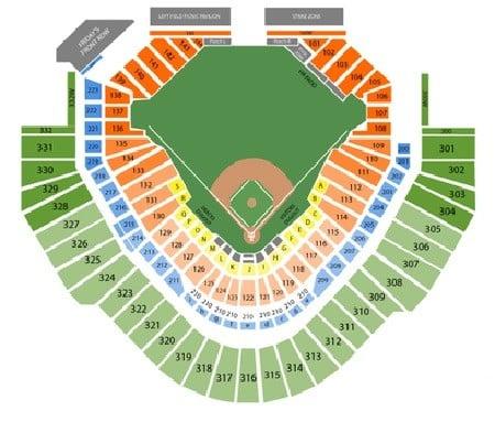 Arizona Diamondbacks Seating Chart