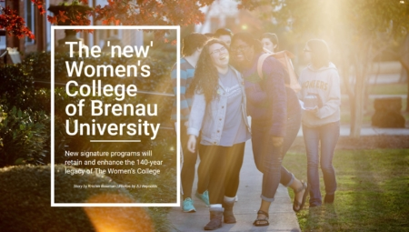 The new women's college of Brenau University title image