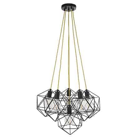 Endon Icosa 81745 Cluster Pendant 6 Light