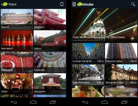 minube app recomendaciones de viajeros
