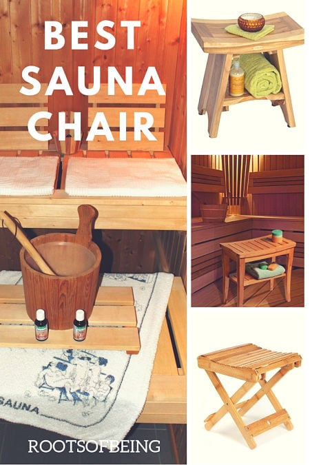 best sauna chair