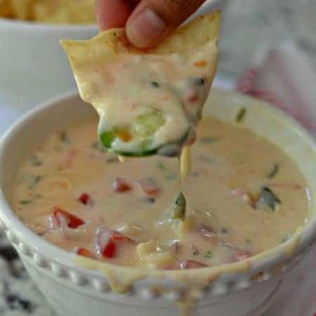 Easy White Queso Dip
