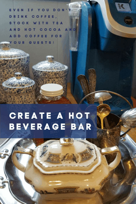 Create your own Hot Beverage Bar