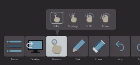 4 gestes pour interagir avec écran interactif