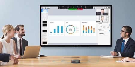 logiciel de visioconférence travail collaboratif