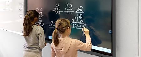 usage écran interactif milieu scolaire école