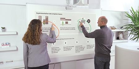 vidéoprojecteur interactif en entreprise