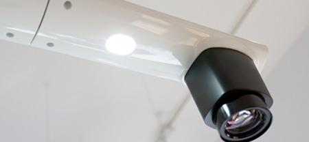 visualiseur lumière LED intégrée