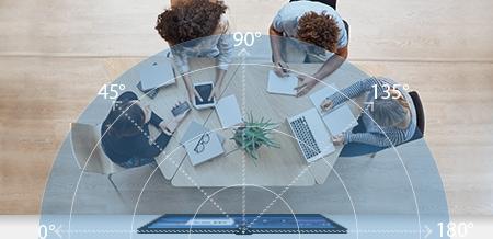 caméra jabra 180 degrés travail collaboratif visio