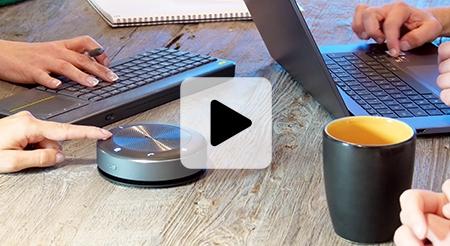 huddle room pieuvre micro haut parleur sans fil