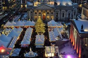 berlin christmas market at Gendarmenmarkt
