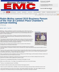 EMC Business Person Article