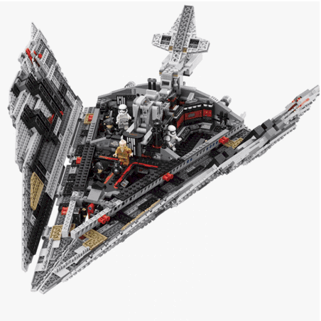 star wars lego set clone