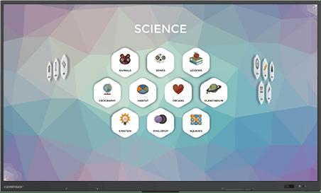 logiciel éducatif tactile