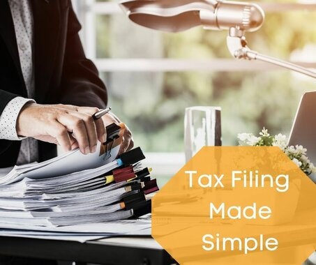 Tax Filing Made Simple with a Tax Professional