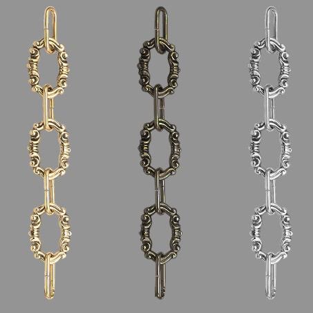 Lighting Chain Decorative C28 Brass