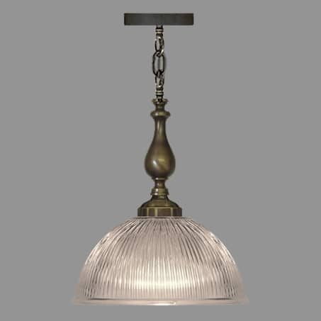 Antique Bobbin suspension with 305mm Holophane Dome