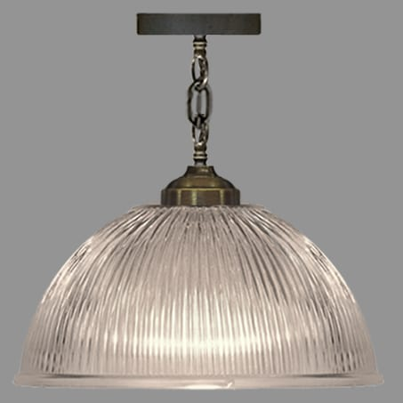 Holophane Dome Pendant 380mm Wide.