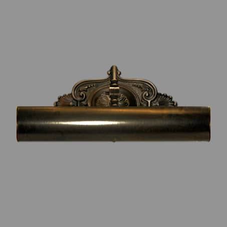 Picture Light Antique finish 18cm long Solid Brass