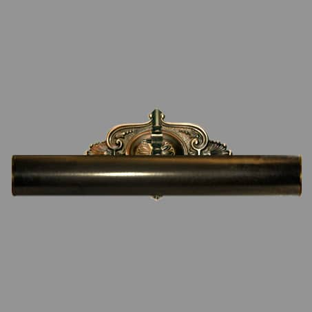 Picture Light Antique finish 33cm long Solid Brass