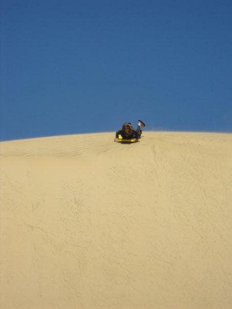 Sand boarding Fun!