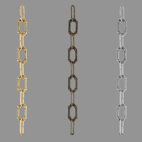Lighting Chain Decorative C25 Brass