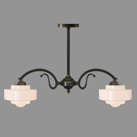 Lighting pendant Art Deco Multi Arm
