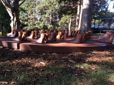 Wellington Botanical Garden Sculptures