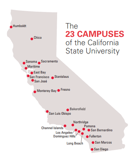 California State University campuses