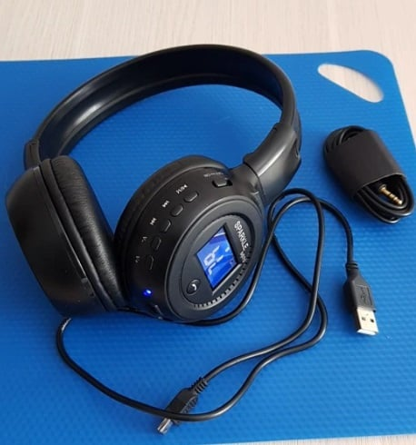 HiFi Stereo Bluetooth Headphone Wireless Headset With Microphone FM Radio Micro SD Card Play Best Cheap Bluetooth Headphone replica latest AliExpress ZEALOT B570