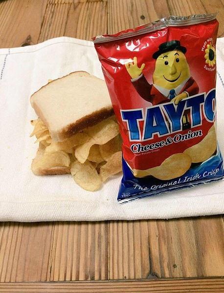 Ireland favourite Tayto Sandwich