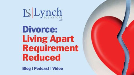 Divorce Living Apart Requirement