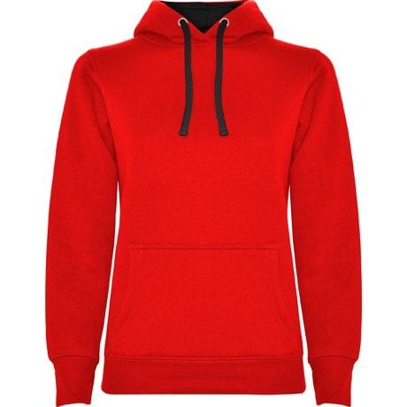 Bluza z wlasnym nadrukiem Roly damska czerwona