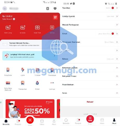 E-Wallet LinkAja