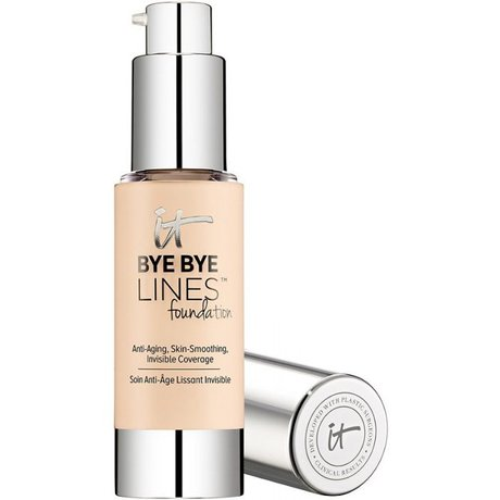 It Cosmetics Bye Bye Lines Sheer Liquid foundation | 40plusstyle.com