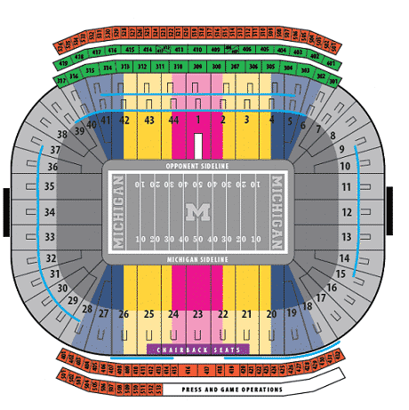 Michigan-Wolverines-seating-chart
