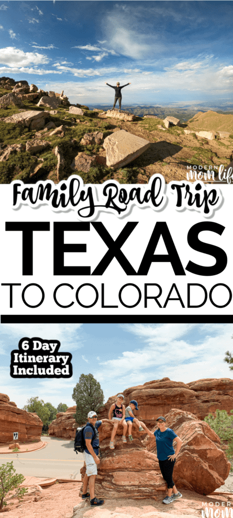 Texas to Colorado Summer Road Trip