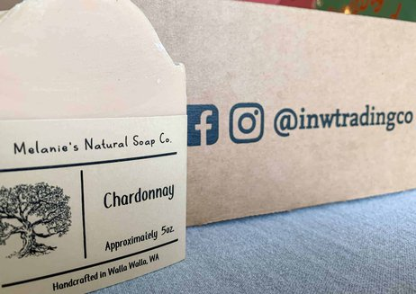 locally made soap in the inland nw subscription box