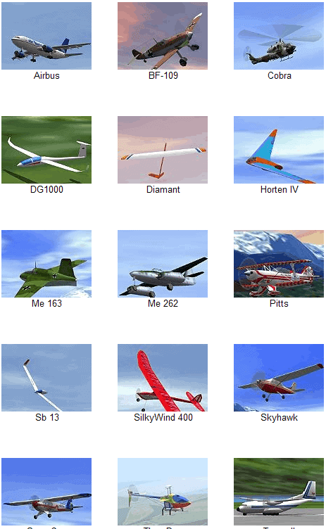 Screenshots telas do Flying Model Simulator FMS 2.0 Alpha 8.5 no Superdownloads