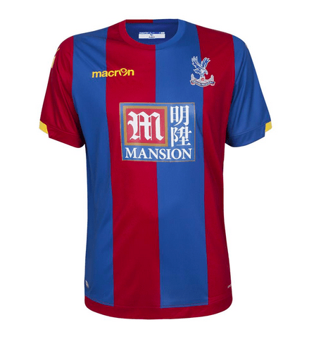 crystal palace home jersey