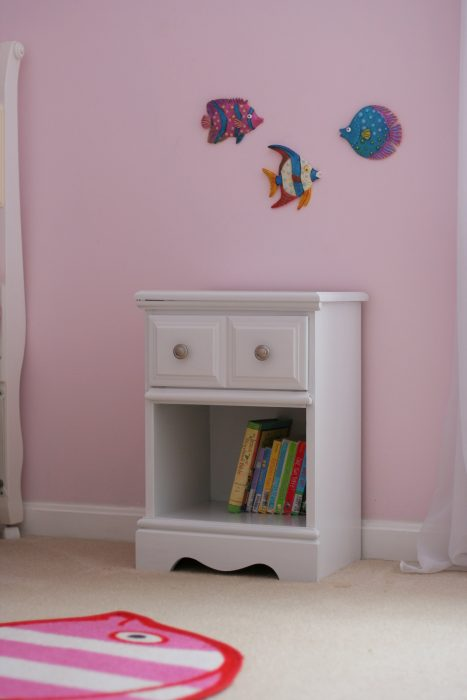 painted freecycle nightstand