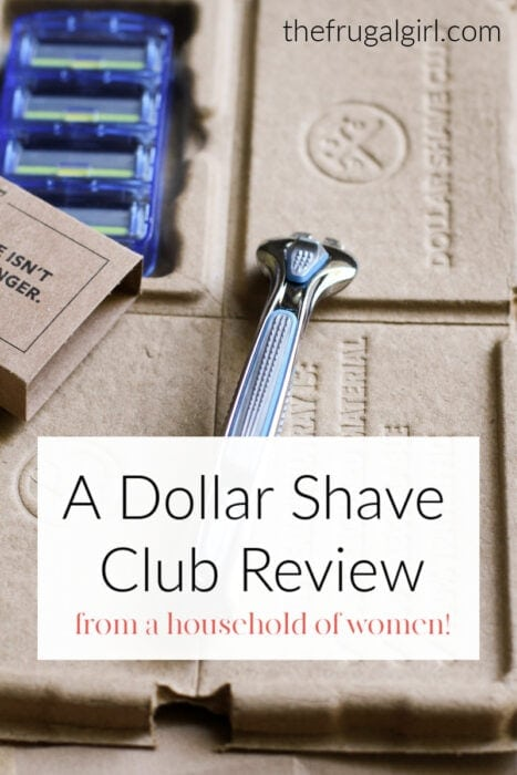 A Dollar Shave Club Review froma household of women