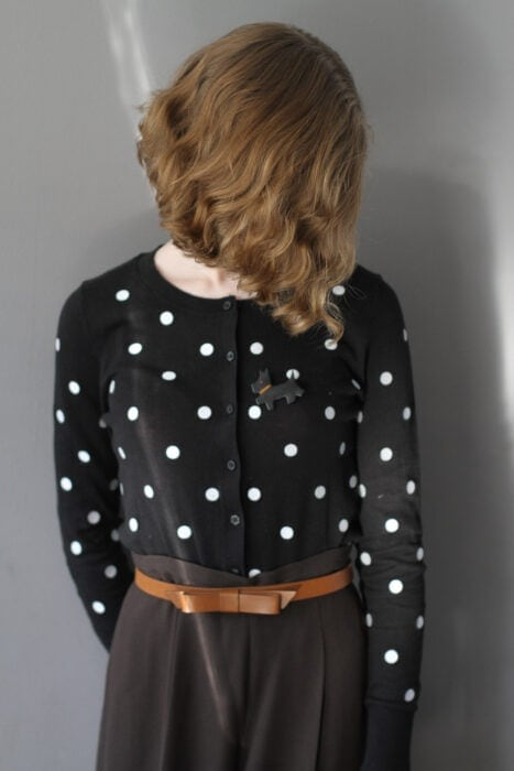 Old Navy polka dotted cardigan Sonia