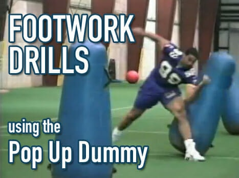 footwork drills with pop up